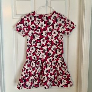 Kate Spade floral print dress.